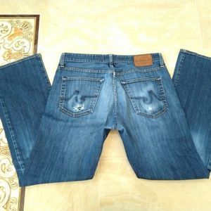 AG mens relaxed jeans size 33